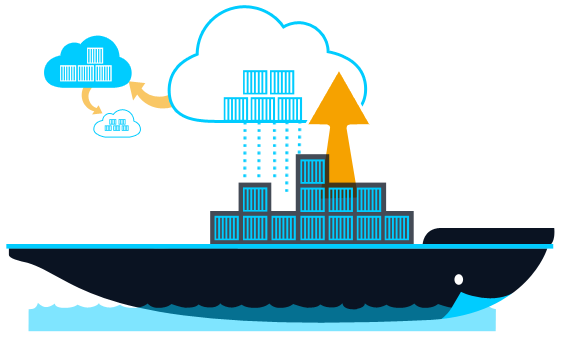 illustration devops docker