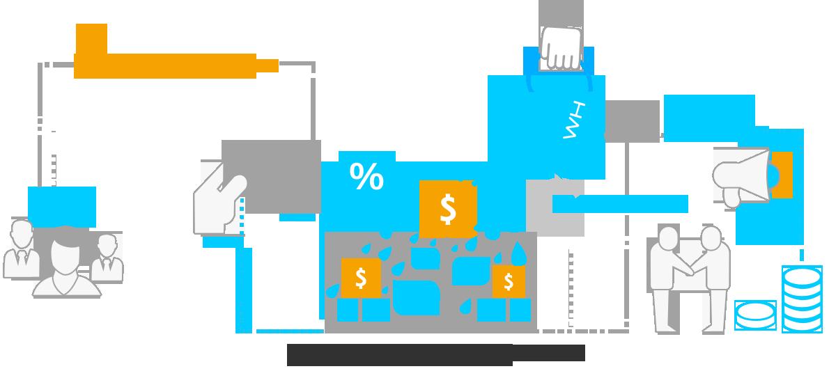 Illustration Ventures of WhiteHedge